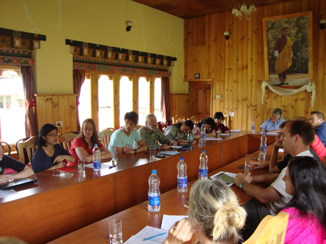 BCF Teachers in Bumathang