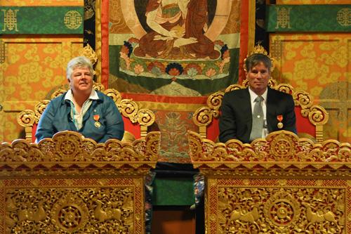 Kuensel, National Order of Merit - Sam&Nancy