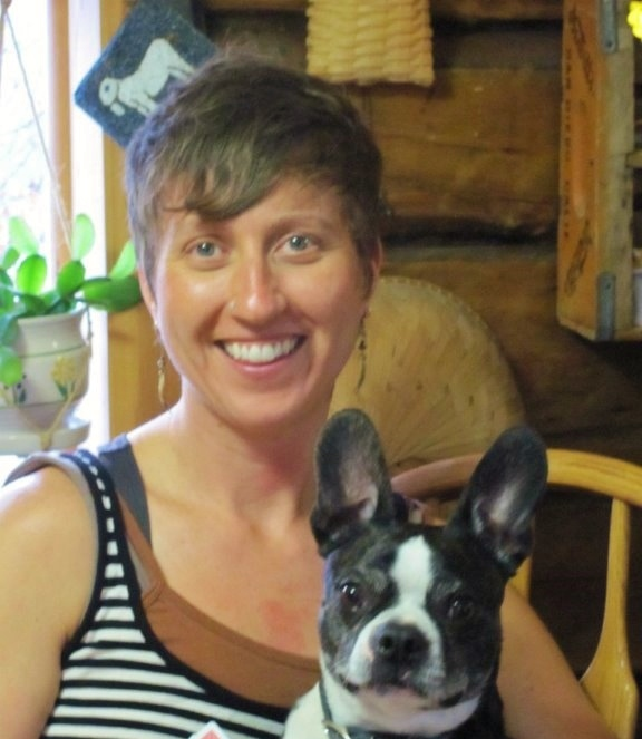 Meet Kezia...and her adorable dog!
