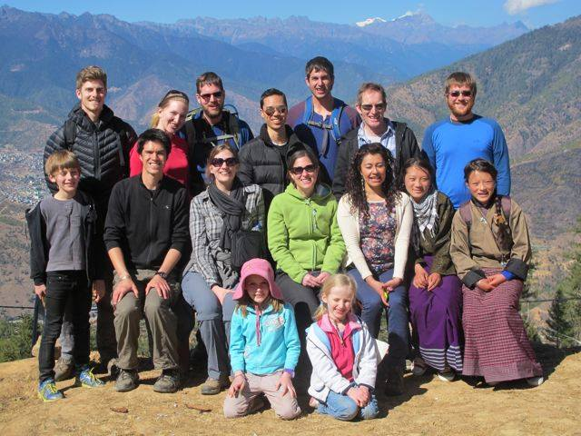 Traditional Day of Offering Hike (Class 2014)