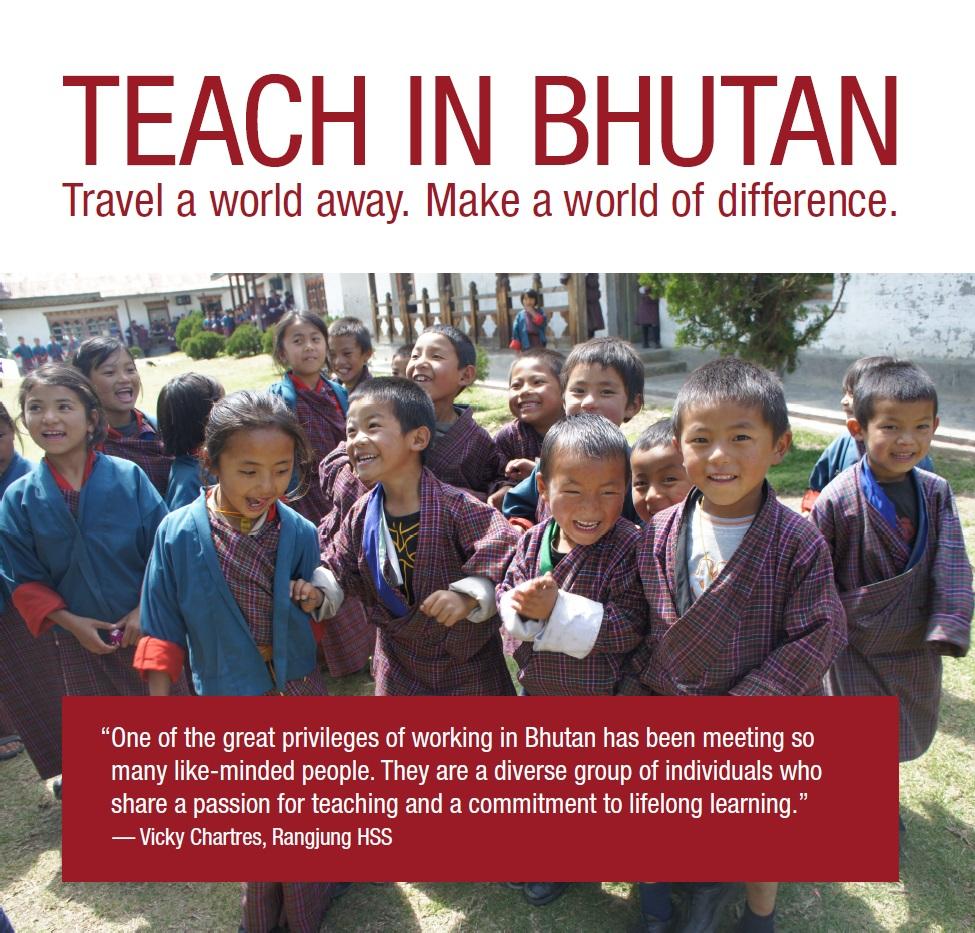 Teach in Bhutan_Poster 4
