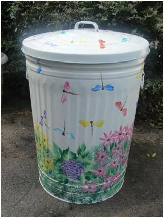 Colourful Bin